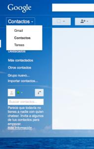 Contactos Gmail