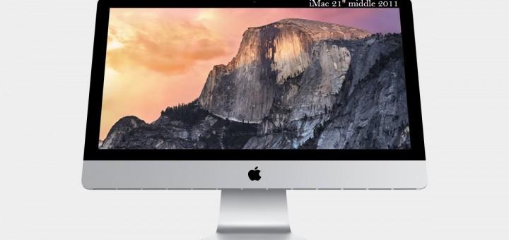 Yosemite en iMac middle 2011